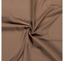 Baumwolljersey braun 160 cm breit