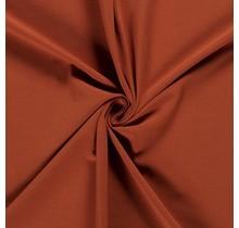Baumwolljersey rostrot 160 cm breit