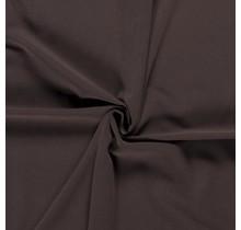 Baumwolljersey dunkelbraun 160 cm breit