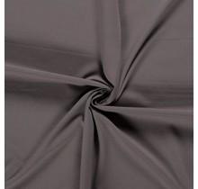 Baumwolljersey taupe braun 160 cm breit