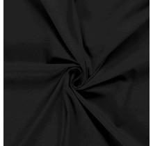 Baumwolljersey schwarz 160 cm breit
