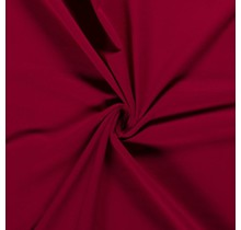 Baumwolljersey dunkelrot 160 cm breit