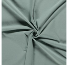 Baumwolljersey dunkel mintgrün 160 cm breit