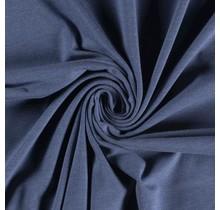 Baumwolljersey meliert indigoblau 160 cm breit