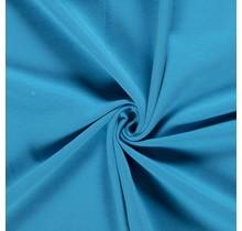 Baumwolljersey angeraut babyblau 155 cm breit