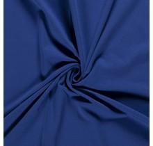 Baumwolljersey angeraut königsblau 155 cm breit