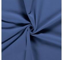 Baumwolljersey angeraut indigoblau 155 cm breit