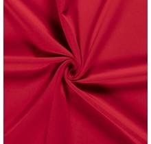 Baumwolljersey angeraut rot 155 cm breit