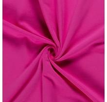 Baumwolljersey angeraut hot pink 155 cm breit