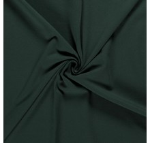 Baumwolljersey angeraut dunkelgrün 155 cm breit