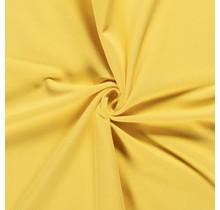Baumwolljersey angeraut gelb 155 cm breit