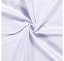 Baumwolljersey angeraut weiss 155 cm breit