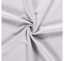 Baumwolljersey angeraut hellgrau 155 cm breit