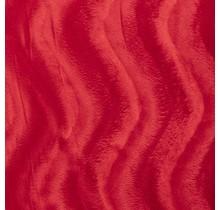 Kunstfell Wellenstruktur rot 147 cm breit