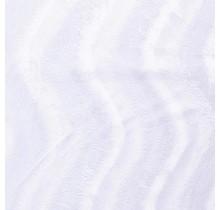 Kunstfell Wellenstruktur weiss 147 cm breit