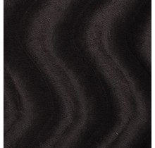 Kunstfell Wellenstruktur dunkelbraun 147 cm breit