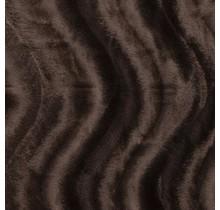 Kunstfell Wellenstruktur braun 147 cm breit