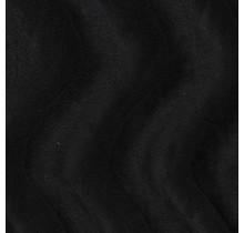 Kunstfell Wellenstruktur schwarz 147 cm breit
