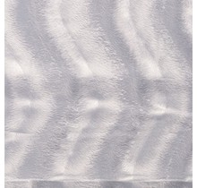 Kunstfell Wellenstruktur hellgrau 147 cm breit