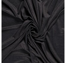 Jersey Denim Look schwarz 160 cm breit