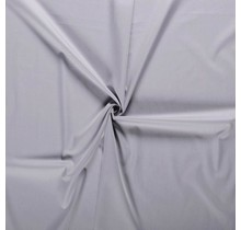 Baumwolle Popeline hellgrau 145 cm breit
