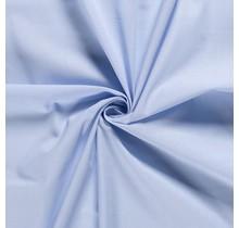 Baumwolle Popeline Premium babyblau 140 cm breit