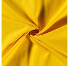 Baumwolle Popeline Premium gelb 140 cm breit