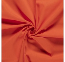 Baumwolle Popeline Premium orange 140 cm breit
