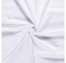 Baumwolle Popeline Premium weiss 140 cm breit