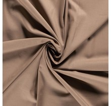 Baumwolle Popeline Premium karamell 140 cm breit