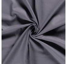 Baumwolle Popeline Premium dunkelgrau 140 cm breit