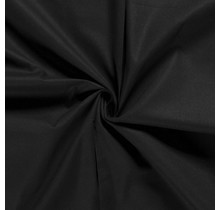 Baumwolle Popeline Premium schwarz 140 cm breit