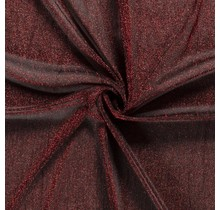 Jersey Lamettaglitzer rot 110 cm breit