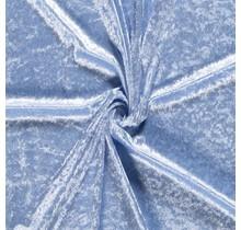 Pannesamt babyblau 147 cm breit