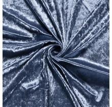 Pannesamt indigoblau 147 cm breit