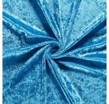 Pannesamt aquablau 147 cm breit