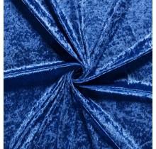 Pannesamt königsblau 147 cm breit