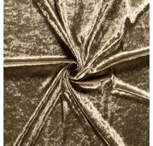 Pannesamt khaki grün 147 cm breit