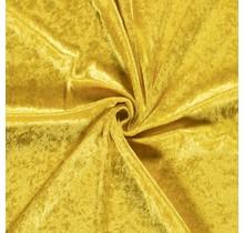 Pannesamt gelb 147 cm breit