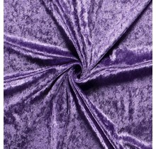 Pannesamt lavendel 147 cm breit