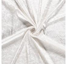 Pannesamt wollweiss 147 cm breit
