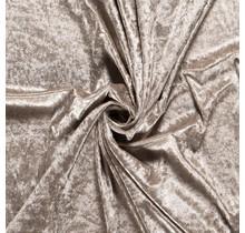 Pannesamt beige 147 cm breit
