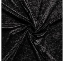 Pannesamt schwarz 147 cm breit