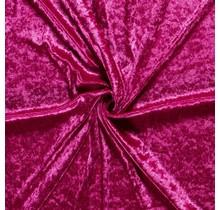 Pannesamt hot pink 147 cm breit