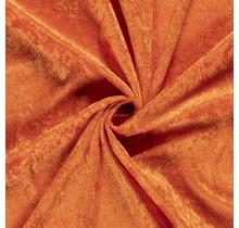 Pannesamt orange 147 cm breit