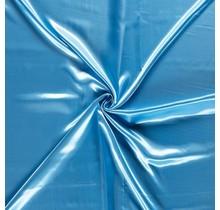 Polyestersatin aquablau 147 cm breit