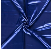 Polyestersatin indigoblau 147 cm breit