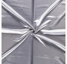 Polyestersatin silber 147 cm breit