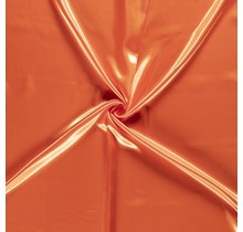 Polyestersatin orange 147 cm breit