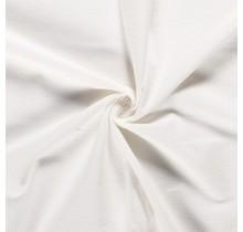Molton Baumwollstoff deluxe wollweiss 147 cm breit